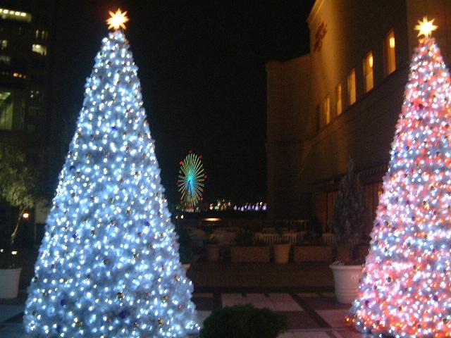 ホテル・グランパシフィック メリディアン クリスマスツリー