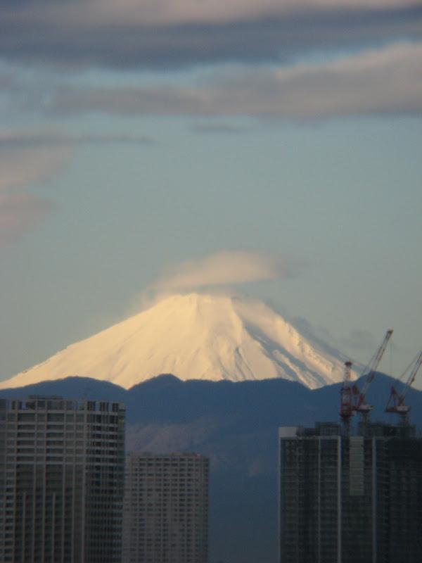 豊洲から見える富士山