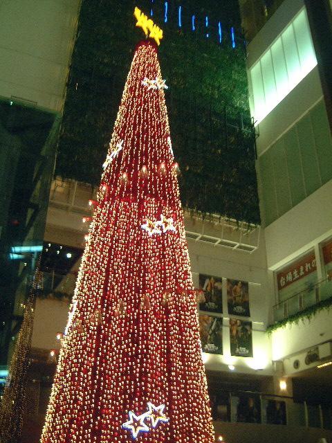 シネマメディアージュ クリスマスツリー