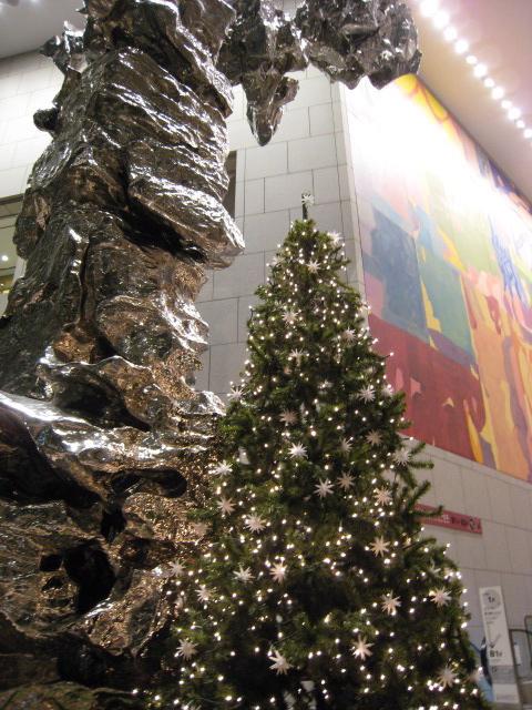 シティセンター内のツリー