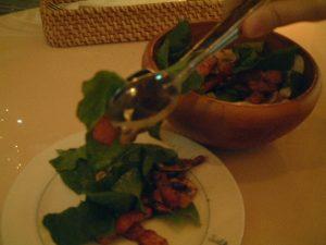 木の実のサラダ