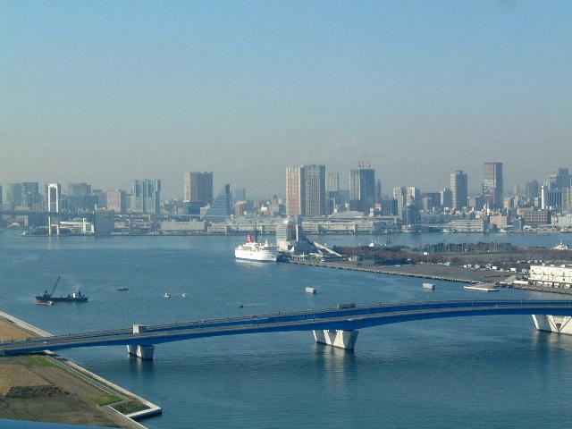 晴海客船ターミナル 大型船