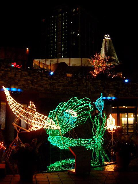 晴海トリトンのクリスマスイルミネーション