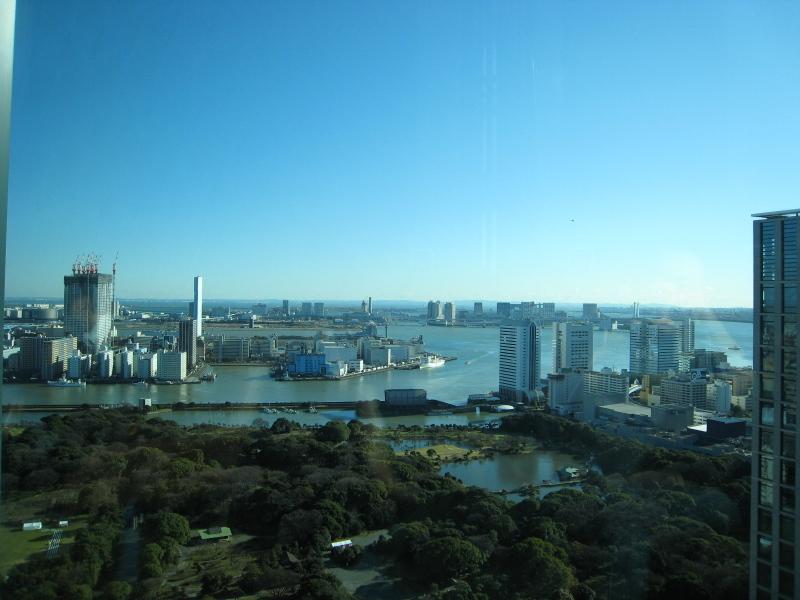 コンラッド東京 28階からの風景