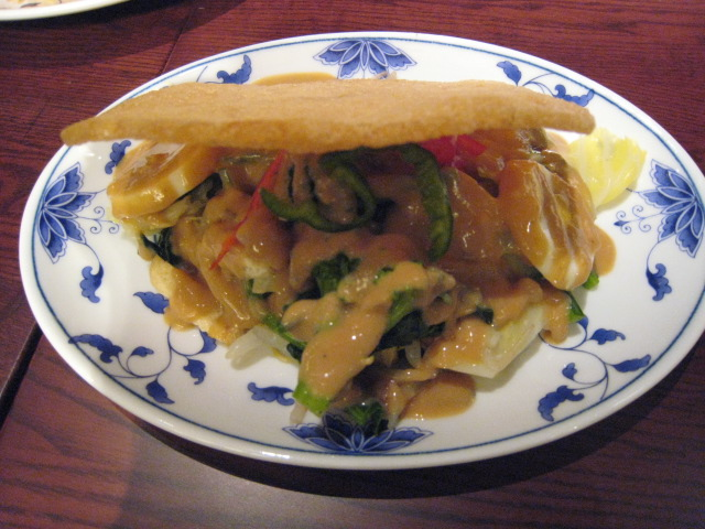 インドネシア料理 SuraBaya 季節のゆで野菜 ガドガドサラダ