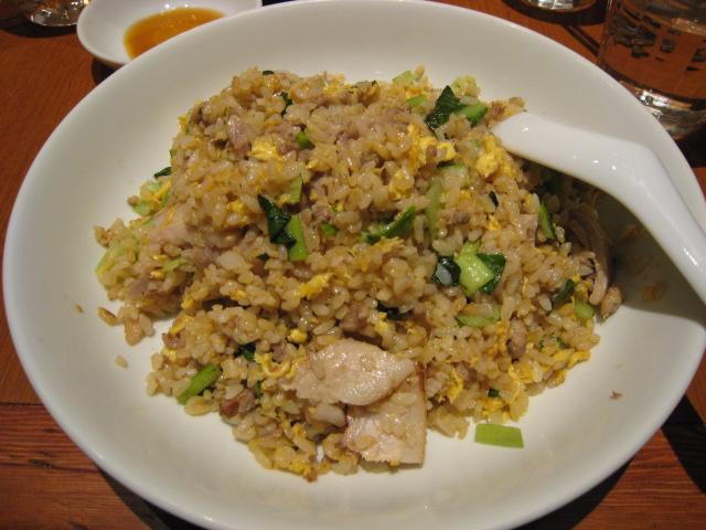 豚バラ青菜炒飯