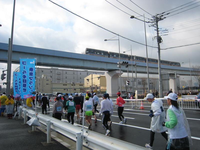 東京マラソンスタンプラリー(東雲〜有明2丁目)