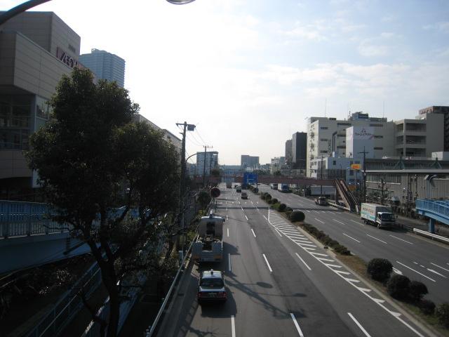 イオン東雲ショッピングセンターの前