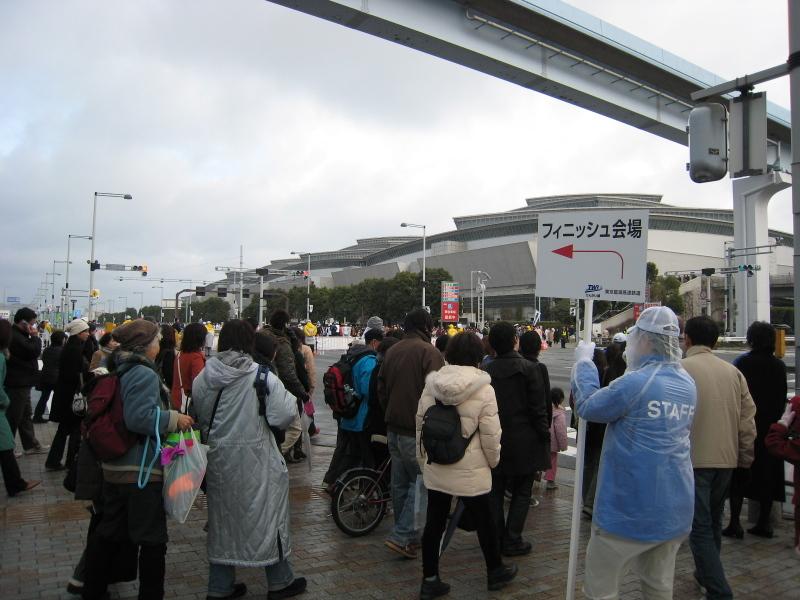 東京マラソンスタンプラリー(国際展示場〜ゴール)