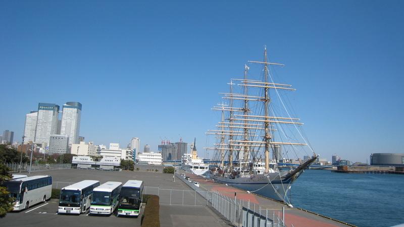 日本丸 晴海埠頭