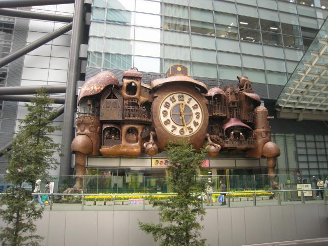 日テレ・からくり大時計