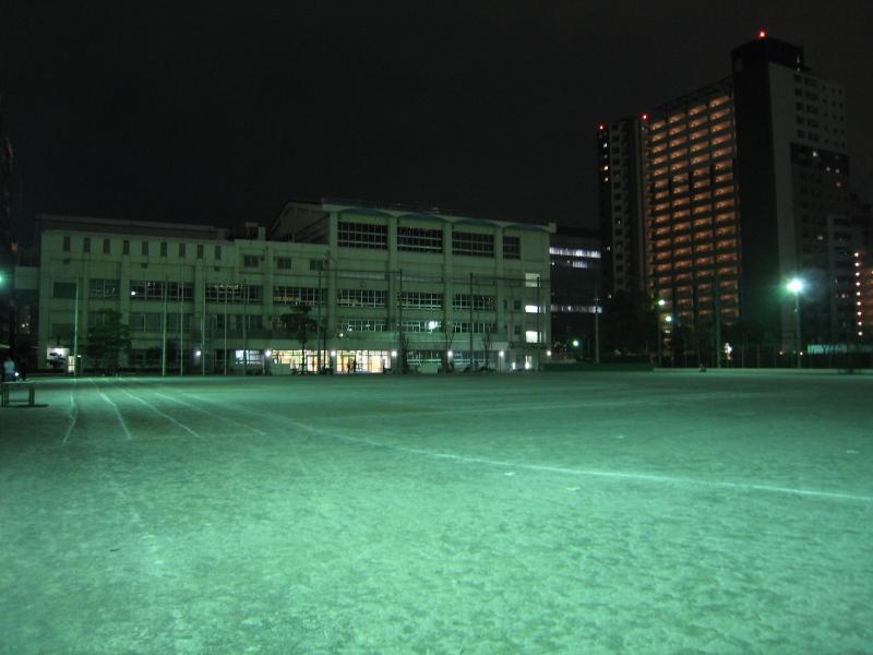 夜の深川五中