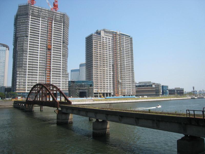 建設中のパークシティ