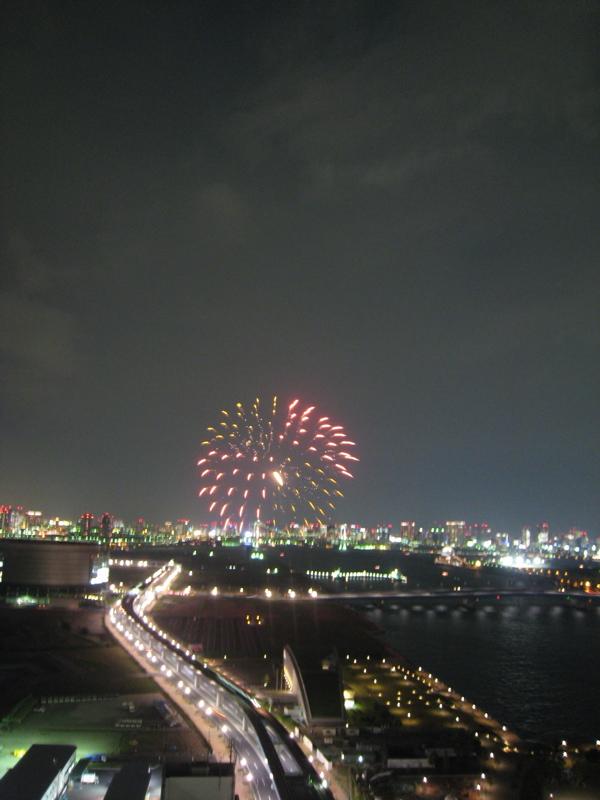 ドラマ【ホタルノヒカリ】の花火撮影
