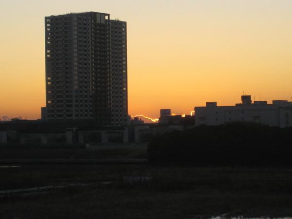 豊洲の夜明け