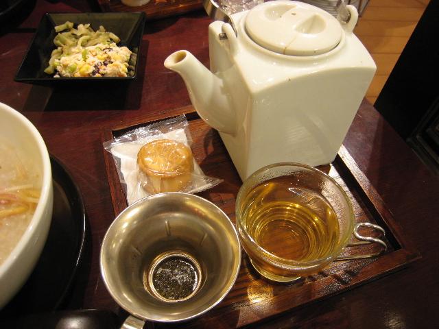 桂花茶寮のティータイム