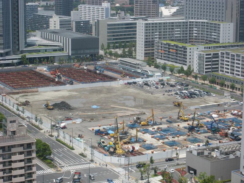 豊洲3街区ビル計画(2009年6月1日現在)