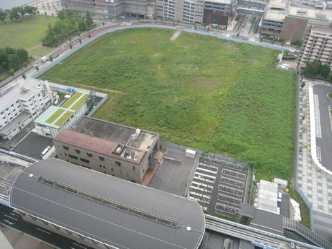 2009年頃の豊洲2‐1 街区