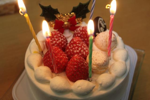 しらはまシェフの店のクリスマスケーキ