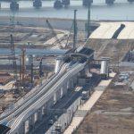 築地が移転する豊洲新市場の工事状況