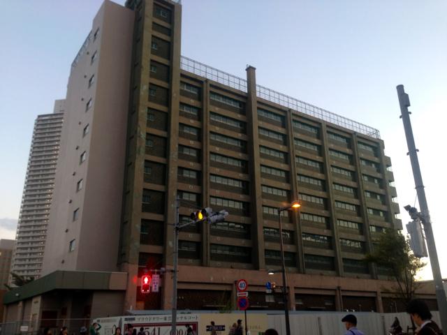 旧深川消防署豊洲出張所庁舎 解体工事