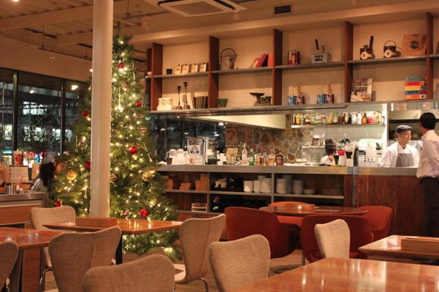 クリスマス カフェハウス