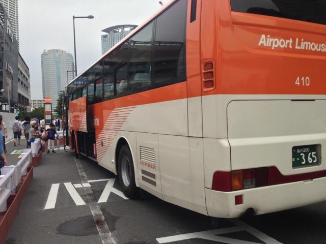 豊洲から成田空港へ