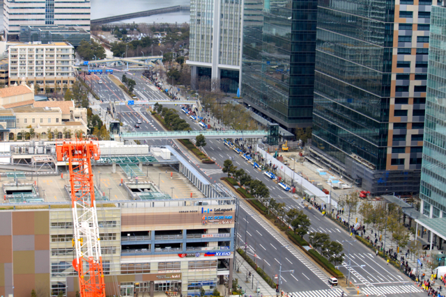 東京マラソン2014in豊洲