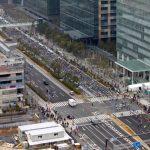 東京マラソン 2015 in 豊洲(3)