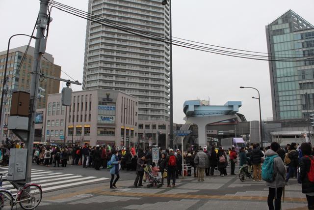 東京マラソン 2015 in 豊洲