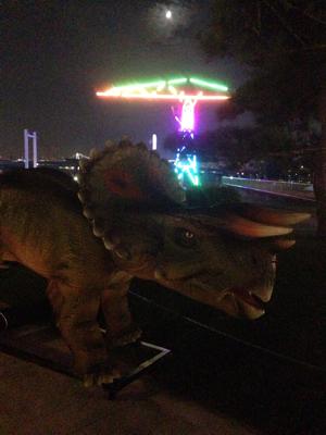 恐竜出現?