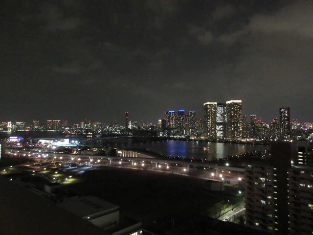 新居から見える夜景