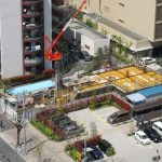 豊洲5丁目にホテル建設中〜(仮称)豊洲5丁目ホテル計画新築工事