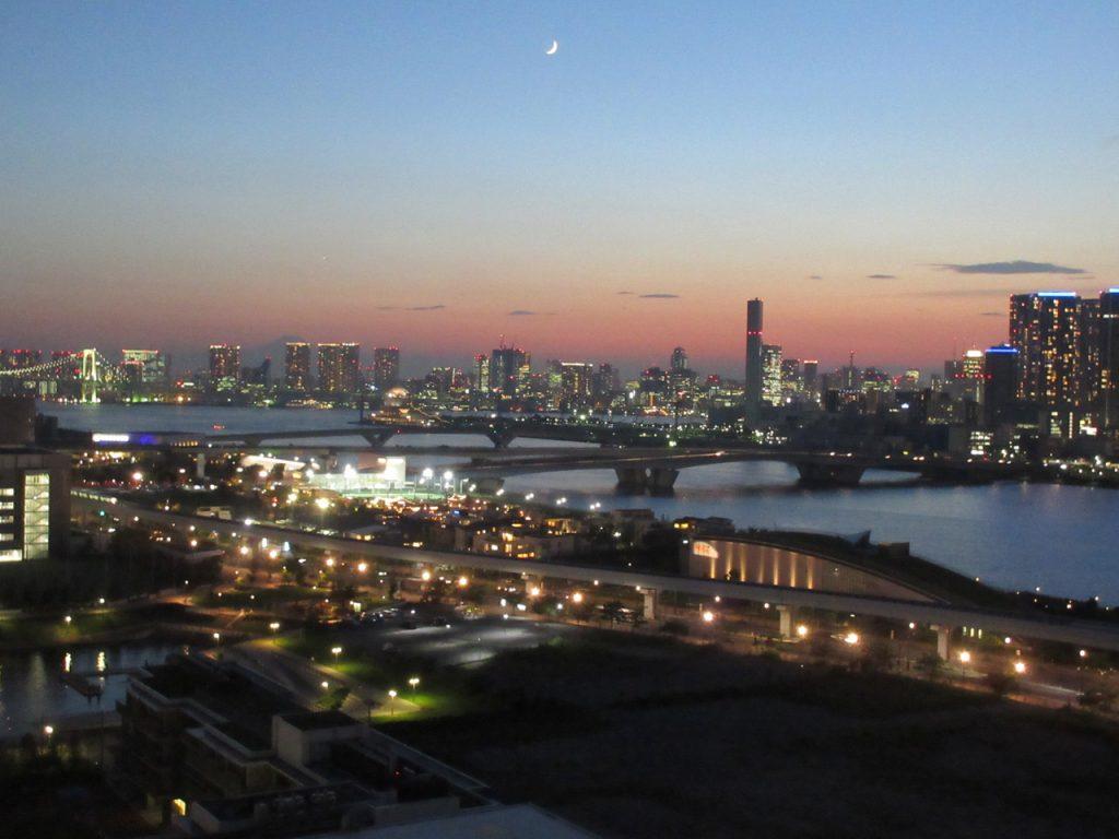 2017年夏・豊洲の黄昏