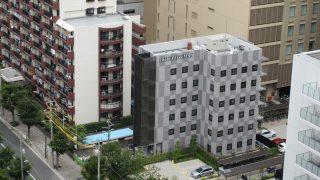 ホテルリブマックス豊洲駅前 建設中