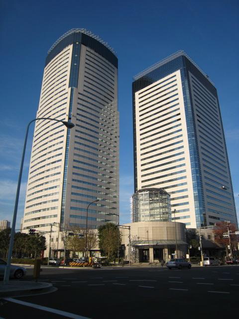 豊洲センタービルNTTデータとアネックスビル