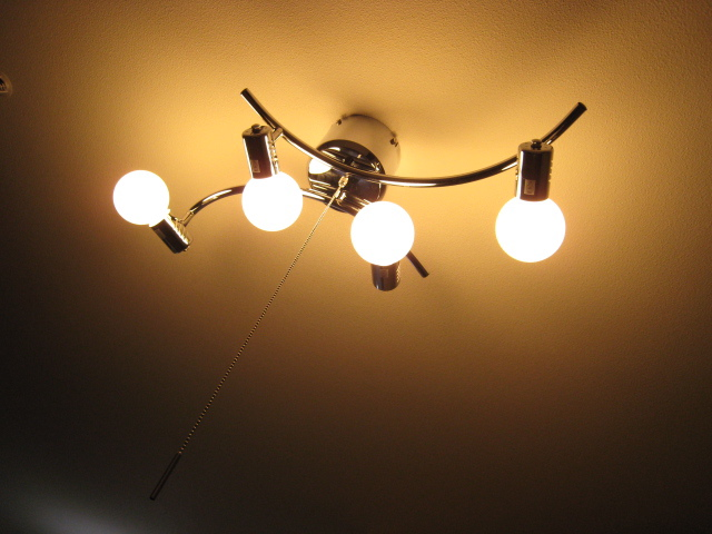 東急ハンズで購入した照明