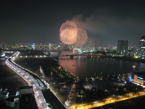 第20回東京湾大華火祭in豊洲