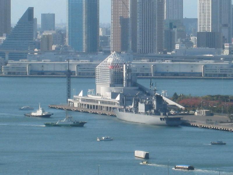 海上自衛隊 補給艦「ときわ」in晴海埠頭