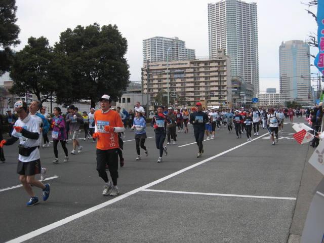東京マラソン 2008 in 豊洲