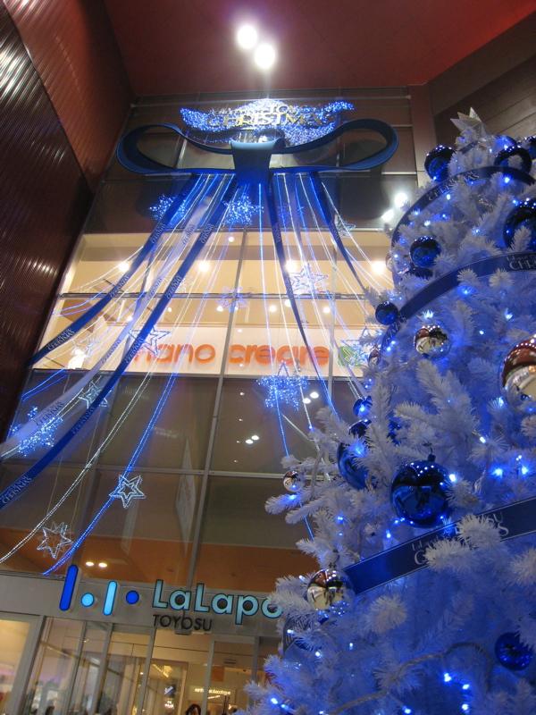 ららぽーと豊洲のクリスマス