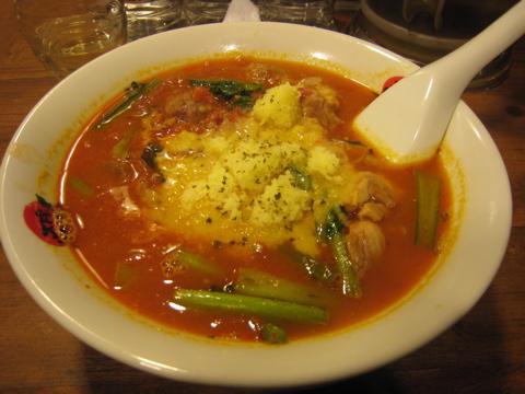 太陽のトマト麺〜豊洲支店 太陽のチーズラーメン