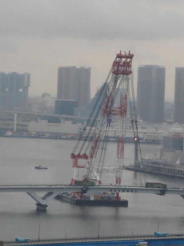 豊洲大橋、遂に完成