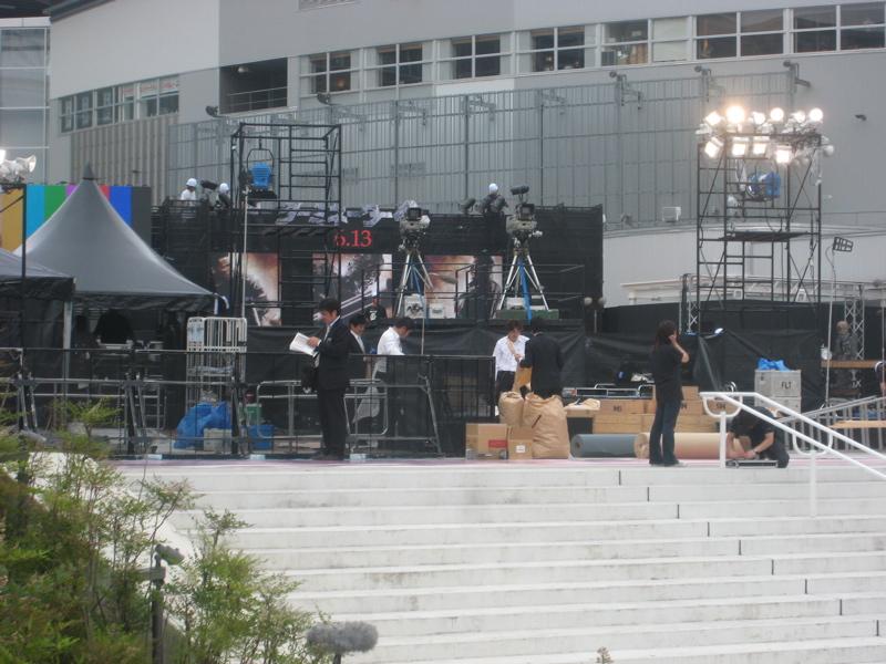 【準備中】「ターミネーター4」ジャパンプレミア レッドカーペットin豊洲