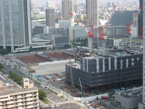 豊洲3街区ビル(2009年8月24日現在)