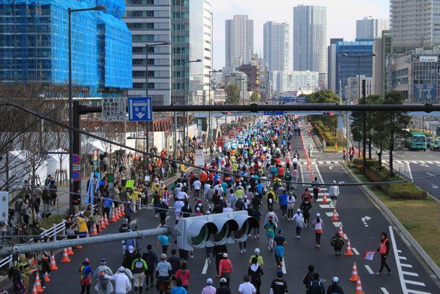 東京マラソン2010in豊洲