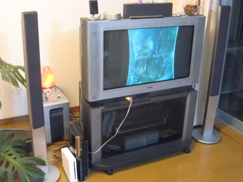 ブラウン管テレビ(32型)終了のお知らせ