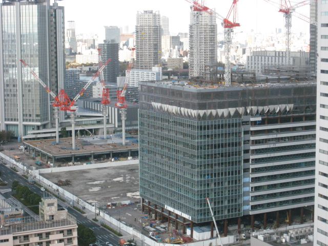豊洲3街区ビル(2009年11月18日現在)