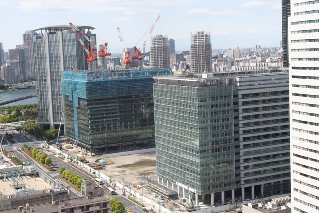 豊洲3街区ビル(2010年5月14日現在)
