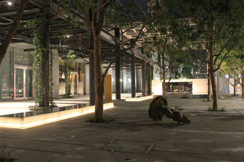夜の豊洲フロント